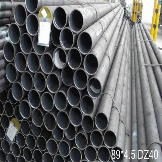 89X4.5mm Dz40 Seamless Steel Pipe Use for Drilling Pipe