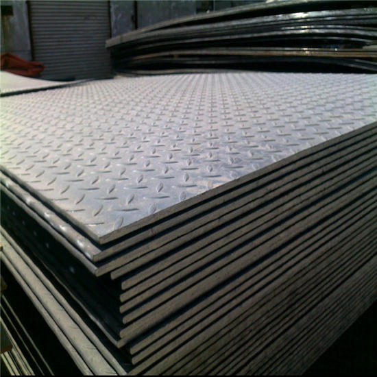 Skid-Proof Diamond Steel Plate Use as Floor Sheet