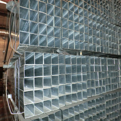 Steel Frame Use Galvanized Square Steel Pipe