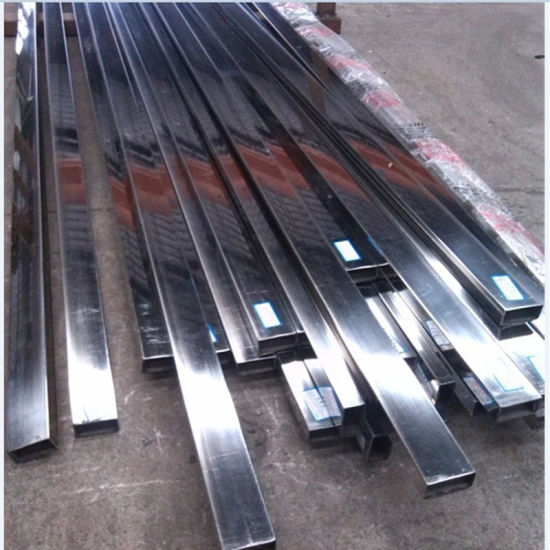 Ss201 Rectangular Stainless Steel Tube