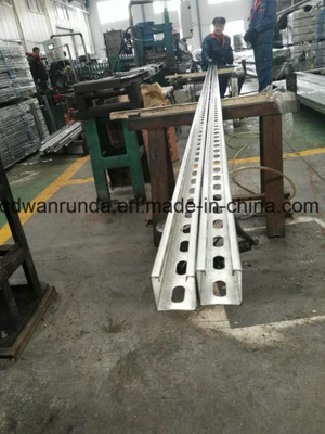 Unistrut Made by HDG Steel Sheet with Clean Ends and Plain Ends (Channel)
