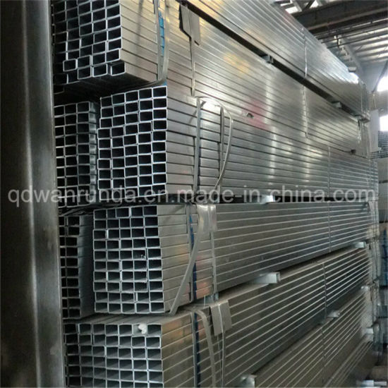 50X100X1.8mm Galvanized Steel Pipe