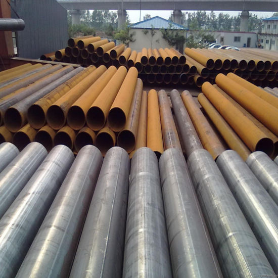 Q235B Welded Carbon Steel Pipe for Steel Structure or Fluid Transportation