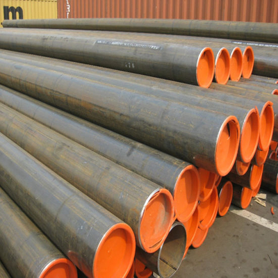 ERW Steel Tube with Bevel Ends and Plastic Cap