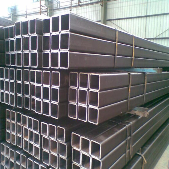 Seamless Steel Pipe Square Shaped 100X100X10mm