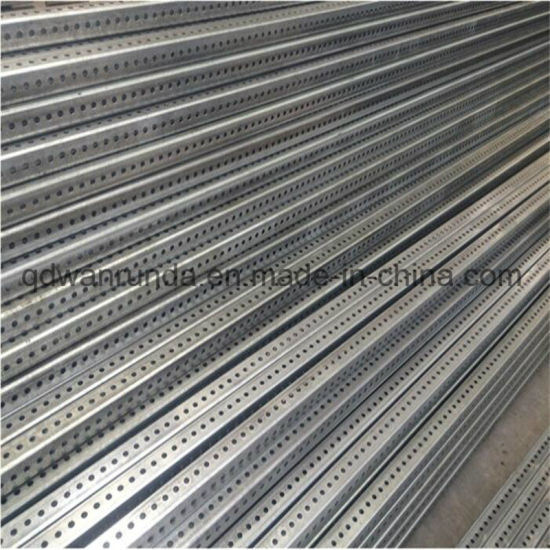 Galvanized Telescoping and Perforated Tube