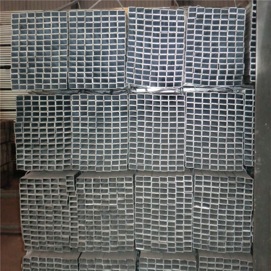 100X100mm Galvanized Steel Pipe for Construction