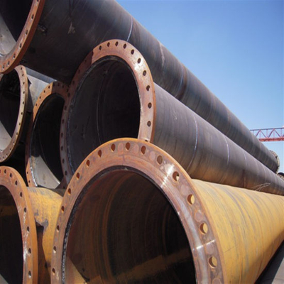 Large Diameter Flange Pipe Making by Carbon Steel