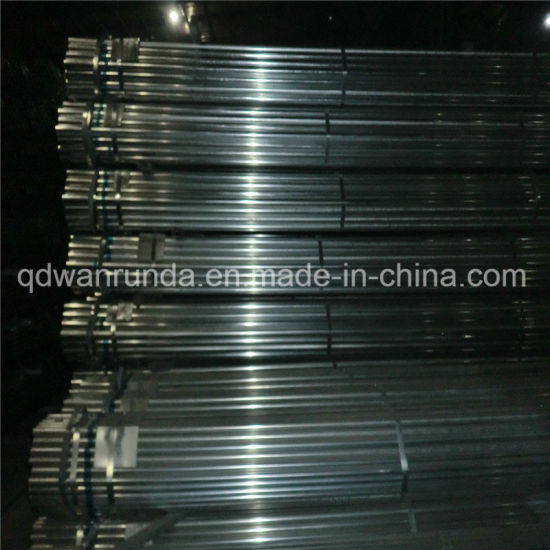 Ornament/Fence/Furniture Use Round Galvanized Steel Tube