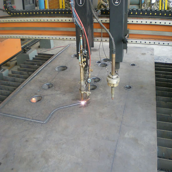 Machine Part Made by Plasma Cutting Steel Plate