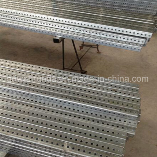 2′′x2′′ HDG Square Perforated Pipe