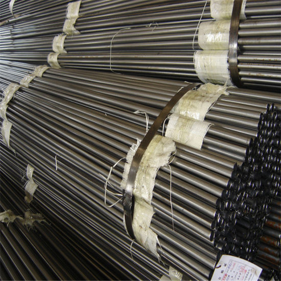Round Cold Rolled Steel Pipe Bright Finished