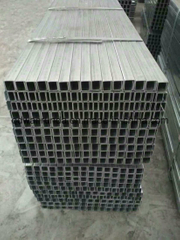U Profile Steel C Channel Steel Cold Rolled Steel Frame