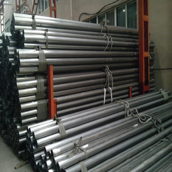 Carbon Steel Bevelled Ends ERW Steel Pipe Use for Transportation