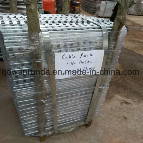 ′t′ Slots HDG Steel Cable Tray
