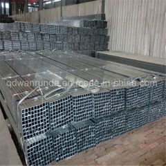 Square Pre-Galvanized Steel Pipe for Decoration or Steel Furniture