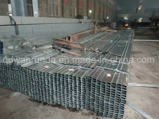 10X10-120X120mm Pre Galvanized Steel Tube for Furniture/Frame
