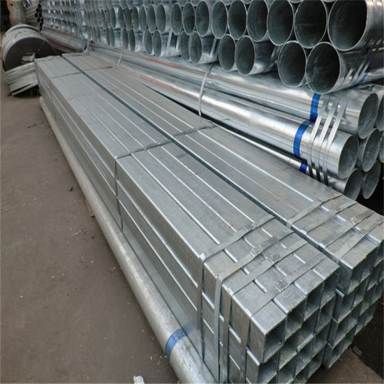 150X150mm X 8mm Hot Dipped Galvanized Steel Pipe for Steel Structure